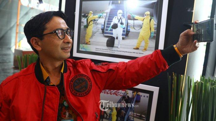 Kisah Unik Dokter Budi Sylvana Evakuasi WNI dari Wuhan, Badan Engap Kenakan Baju Astronot