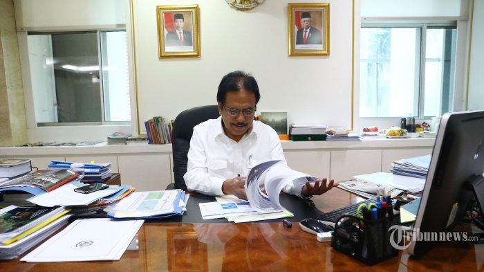 Pastikan Layanan Online di Daerah Tetap Jalan, Menteri ATR/Kepala BPN Pantau Lewat Video Conference