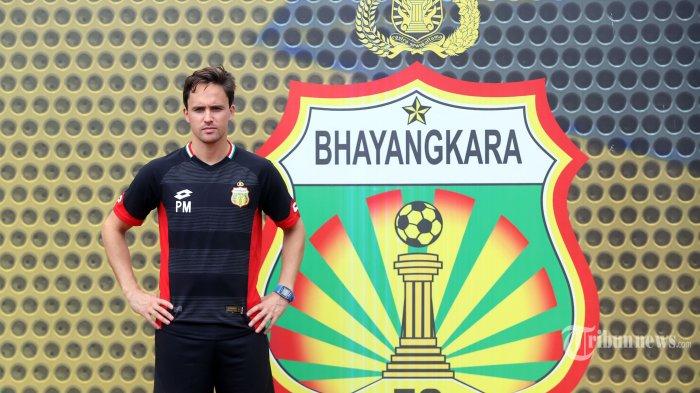 Reksa Maulana bilang Pelatih Bhayangkara FC Galak