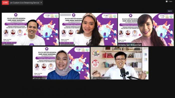 Webinar Kesehatan Gigi dan Mulut Anak-Anak Di Masa Pandemi Covid-19 Diikuti 100 Anak dan Ortu