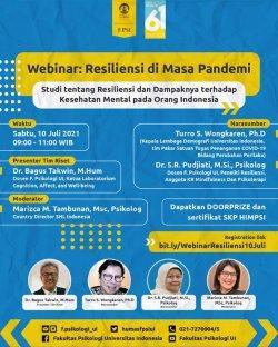 Orang Indonesia Lebih Resilien Jika Lebih Banyak Emosi dan Pengalaman Positif