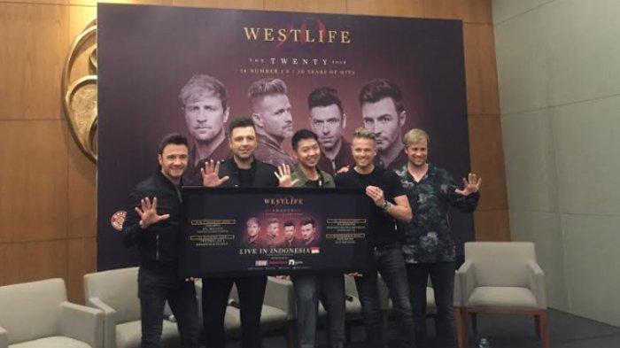 Promotor Klarifikasi Kabar Pejabat Minta 500 Tiket VIP Konser Westlife
