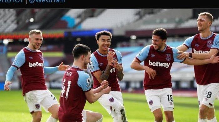 Hasil Liga Inggris West Ham Gebuk Tottenham 2-1, Pemain Buangan Man United Bikin Gol