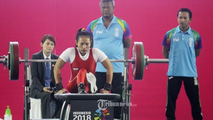 Awali Hari Keenam Asian Para Games 2018, Kontingen Para-Powerlifting Indonesia Tambah Dua Medali