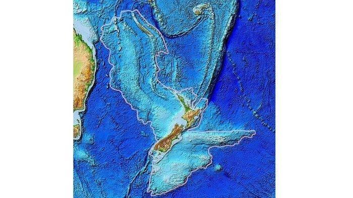Zealandia, Benua Tersembunyi di Samudra Pasifik yang Wilayahnya Berada di Bawah Laut