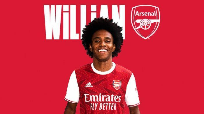 Willian resmi jadi pemain Arsenal