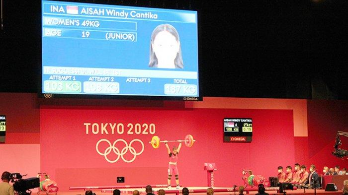 Perjuangan Lifter Angkat Besi Wanita Windy Cantika Aisah (19) yang menghasilkan medali perunggu