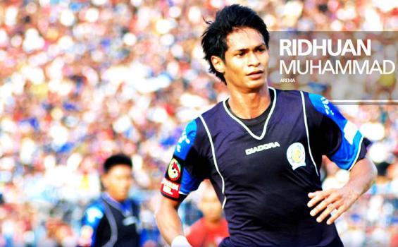 winger Timnas Singapura M Ridhuan yang dikabarkan segera hengkang dari Arema.