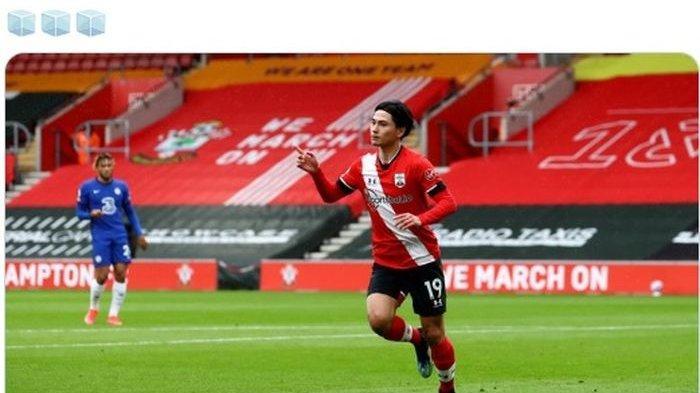 Cukup 3 Laga di Southampton, Takumi Minamino Sudah Lampaui Torehan Golnya di Liverpool