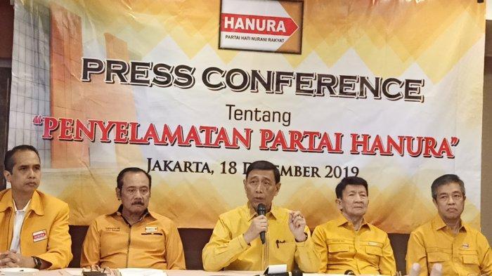 Wiranto: Saya Mundur Sebagai Ketua Dewan Pembina Partai Hanura