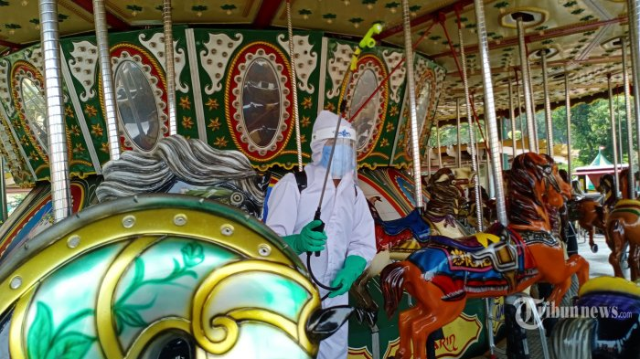PSBB Transisi Jakarta, Taman Rekreasi Kembali Dibuka, Pembelian Tiket Wajib lewat Daring