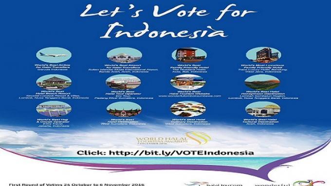 Gerakan Vote World Halal Tourism Award 2016 Makin Massif