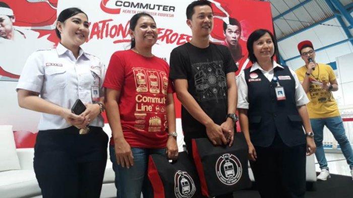 PT KCI Siapkan Bus Menuju Venue Untuk Pengguna Commuter Line