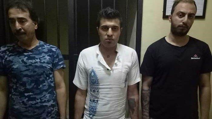 Tiga pelaku hipnotis yang beraksi di wilayah Kecamatan Baturiti, Tabanan, berhasil ditangkap polisi, Minggu (28/7/2019).