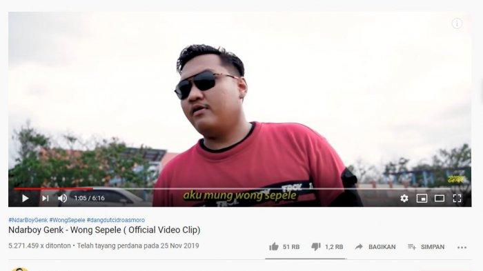 Chord Wong Sepele - Ndarboy Genk, Kunci Gitar Mudah dari C