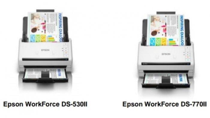Dirancang untuk Pemindaian Data dengan Volume Tinggi, Epson Rilis Scanner Seri WorkForce