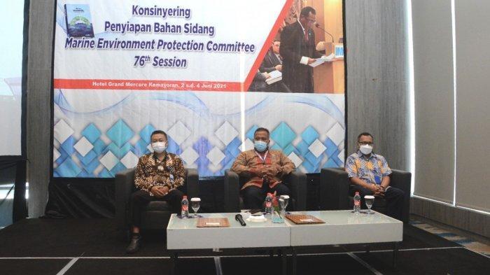 Jelang Sidang MEPC Ke-76, Kemenhub Gelar Workshop Penyusunan Bahan Sidang di Jakarta