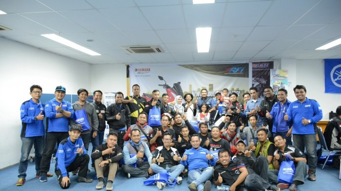 Workshop Yamaha Lexi untuk Yamaha Riders Federation Indonesia