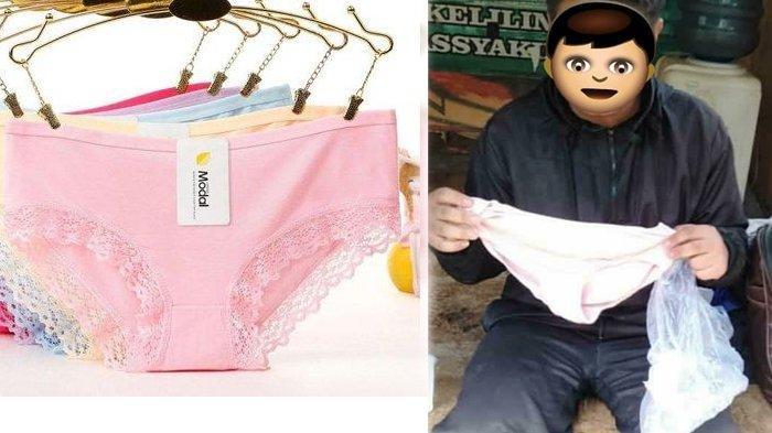 WR Kepergok mencuri celana dalam wanita di Tangerang Selatan