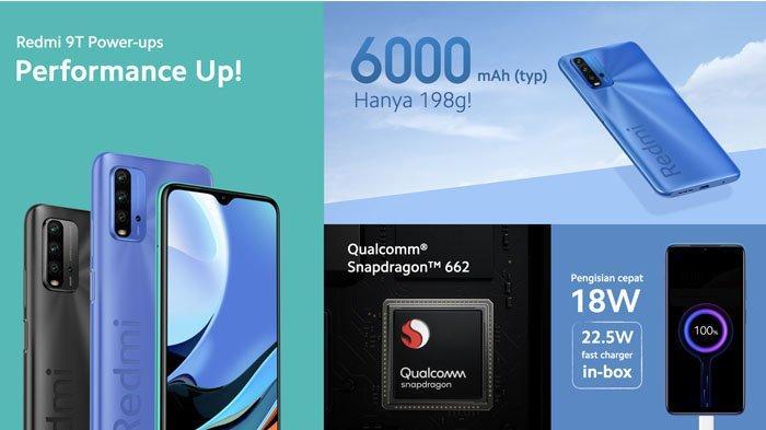 Harga dan Spesifikasi Xiaomi Redmi 9T di Indonesia, Mulai Rp 1,8 Jutaan Usung Baterai 6.000 mAh
