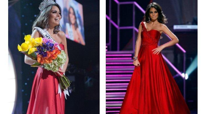 Ximena Navarrete memenangkan Miss Universe 2010