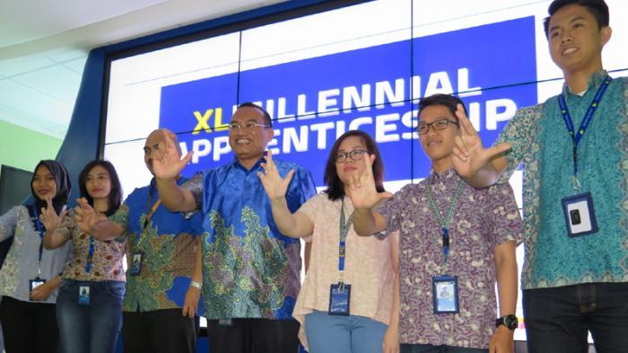 XL Luncurkan Millennial Apprenticeship Program Jaring Anak-anak Muda Berbakat