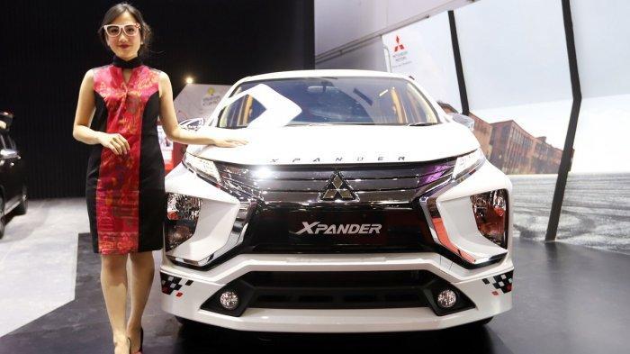 Mitsubishi Xpander Limited saat diluncurkan di pembukaan pameran otomotif IIMS 2019, Kamis (25/4/2019).