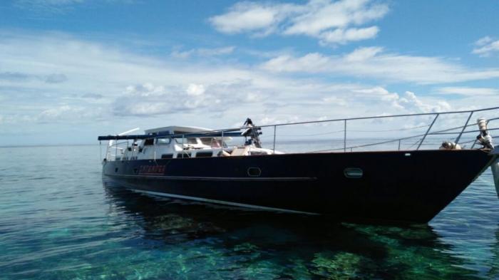 Yacht Intender Terdampar di Pulau Long Bukan Peserta Sail Indonesia 2016