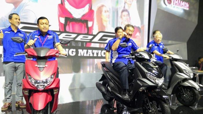 Yamaha Luncurkan FreeGo, Kasta Tertinggi Motor Matik Harian di IMOS 2018