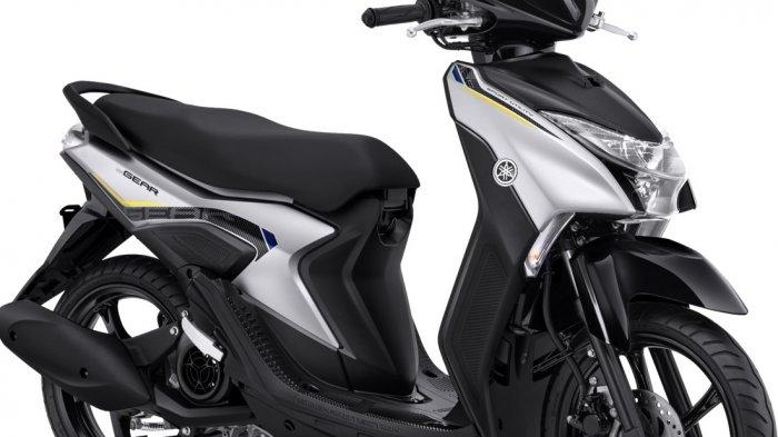 Yamaha Gear 125 varian standar.