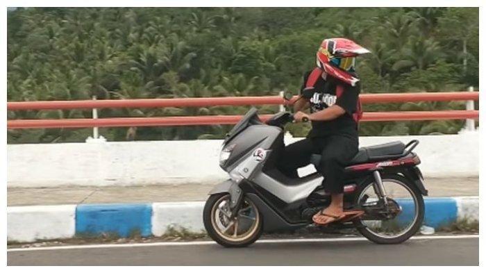 Kreativitas Tanpa Batas Honda Astrea Grand Ini Dikawinkan Dengan Yamaha Nmax Jadi Grand Max Tribunnews Com Mobile