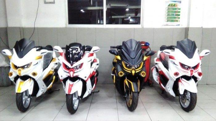 Simak Dulu, Motor Yamaha NMAX Predator Harga Murah Ditambah Bodi Full Aksesoris