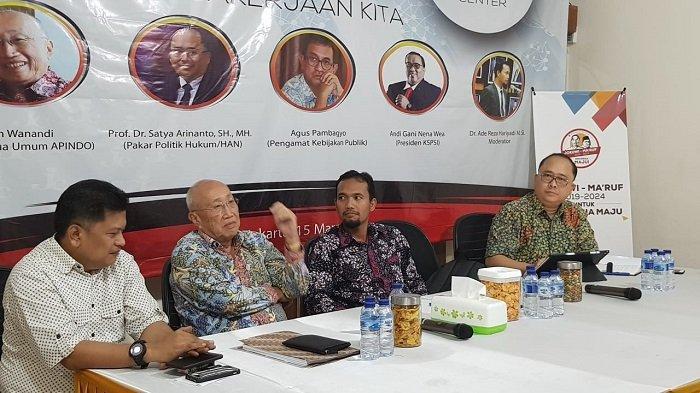 Jenggala Center Berharap Isu Tenaga Kerja Jadi Sorotan dalam Debat Ketiga Pilpres 2019