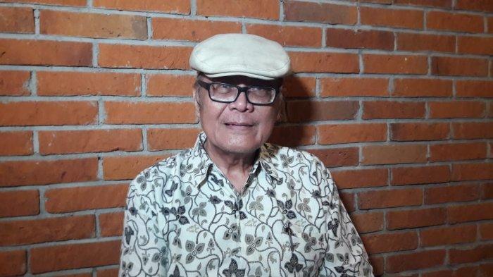 Yan Widjaya mantan wartawan dan kritikus film ditemui dj CGV Grand Indonesia, Jl MH Thamrin Jakarta Pusat, Kamis (22/8/2019)