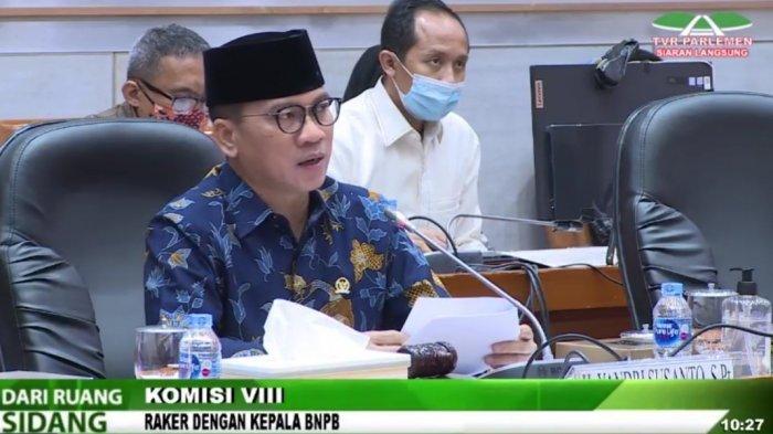 Revisi UU Penanggulangan Bencana, Ketua Komisi VIII: DPR Ingin Perkuat BNPB, Pemerintah Sebaliknya