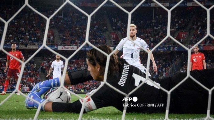 Italia Cetak Rekor Tak Terkalahkan Baru Setelah Imbang 0-0 Lawan Swiss, 36 Laga Tak Terkalahkan