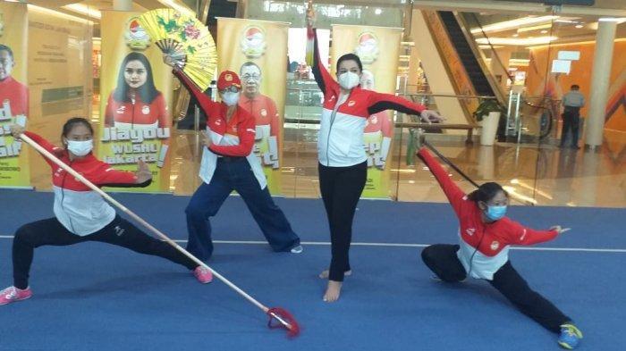 Yanti Airlangga Kepincut Olahraga Wushu