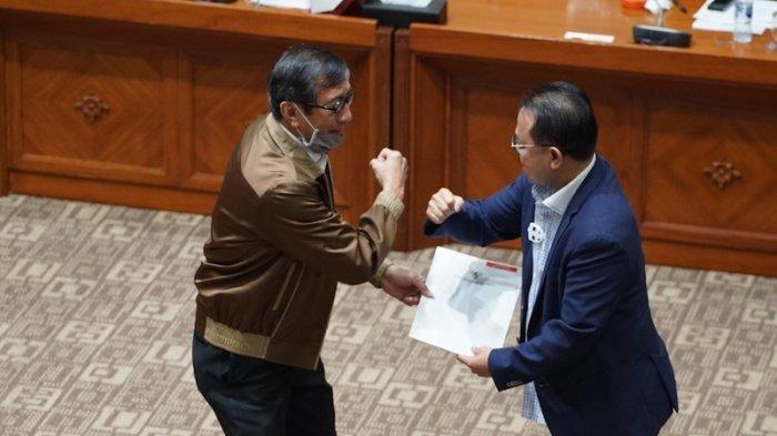 Serahkan DIM RUU MK ke Komisi III DPR RI, Yasonna Harap Pembahasan Dilakukan Hati-hati