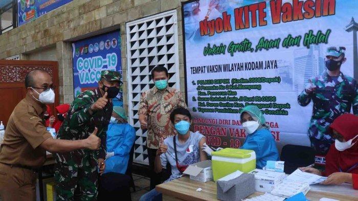 Kolaborasi dengan KODIM 0508, Vaksinasi Siswa di YPBIC Depok Terbaik