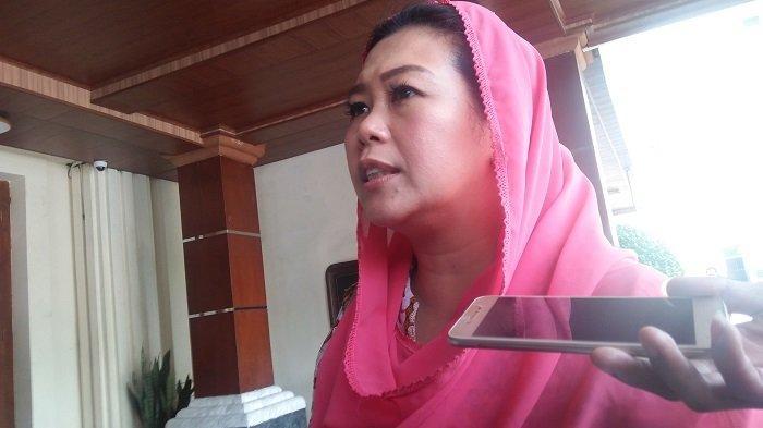Putri Presiden keempat RI, Abdurrahman Wahid atau yang akrab disapa Gus Dur, Yenny Wahid, di kantor Kemenko Polhukam Jakarta Pusat pada Kamis (16/1/2020).