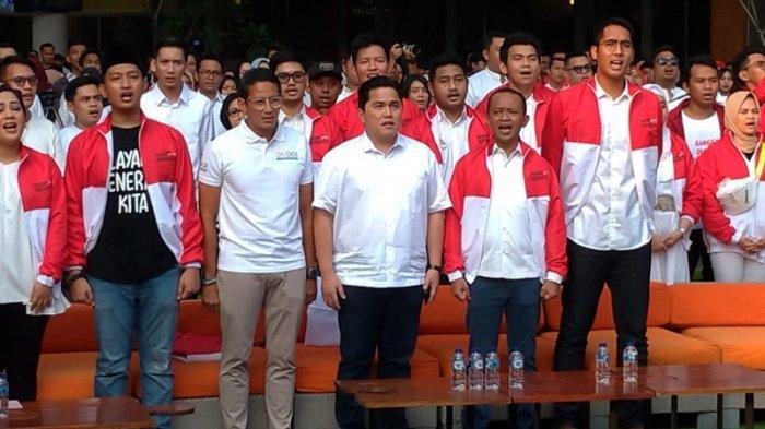 acara 'Young Penting Indonesia' yang digelar di Kemang Village, Jakarta Selatan, Sabtu (13/7/2019) petang.