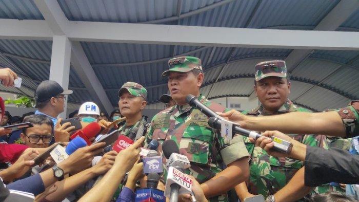 Panglima Komando Gabungan Wilayah Pertahanan (Pangkogabwilhan) I Laksamana Madya Yudo Margono.