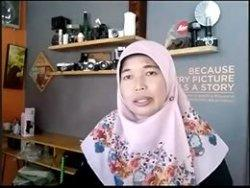 Psikolog R Yuli Budirahayu dari Jasa Psikologi Indonesia (JASPI) Surakarta saat melakukan telewicara video bersama Tribunnews, Jumat (1/5/2020).