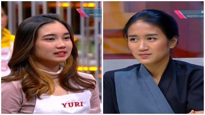 Chef Juna memuntahkan makanan yang dibuat Yuri dalam acara MasterChef Indonesia, Sabtu (10/10/2020). Chef Renatta bahkan menyebut ada dendam.