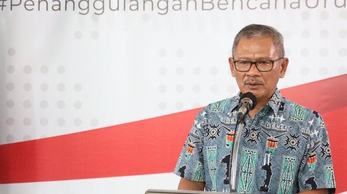 Jubir pemerintah Achmad Yurianto.