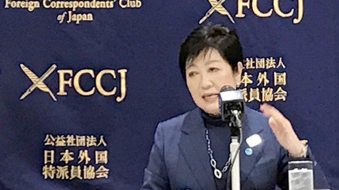 Gubernur Tokyo Yuriko Koike (68)