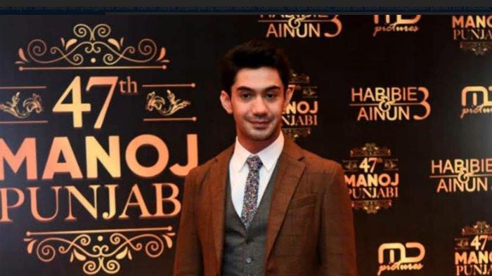 Reza Rahadian ketika ditemui disela-sela acara perayaan ulang tahun ke-47 Manoj Punjabi, di Djakarta Theater Thamrin, Jakarta Pusat, Sabtu (7/12/2019) malam.