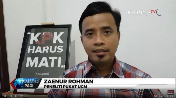 Tangkap Layar YouTube KompasTV Zaenur Rahman Peneliti Pukat UGM Tanggapi Soal Pengadaan Jeep Wrangler Rubicon sebagai Kendaraan Dinas Bupati Karanganyar