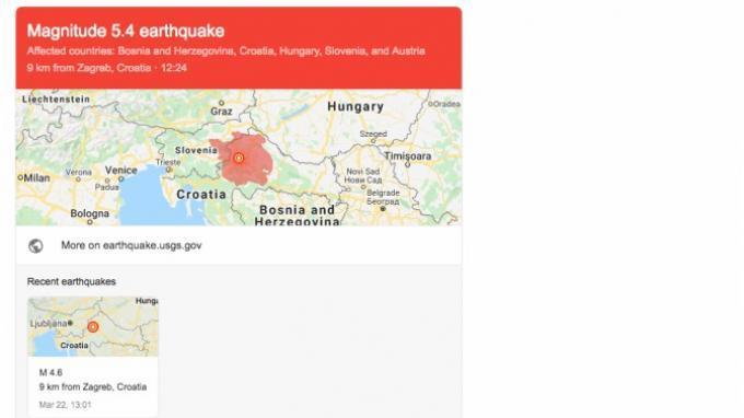 Ibu Kota Kroasia Zagreb Diguncang Gempa Kuat Magnitudo 5 3 Tribunnews Com Mobile