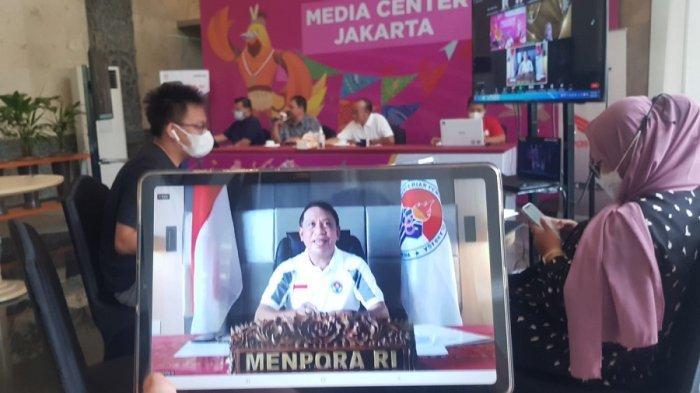 Zainudin Amali Beberkan Menurunnya Angka Kasus Positif Covid-19 di Klaster PON XX Papua